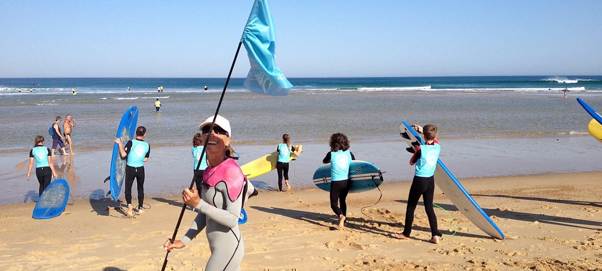 école de surf Messanges